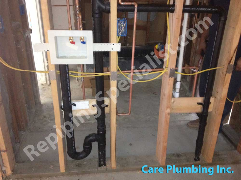 Plumbing with Copper Pipes