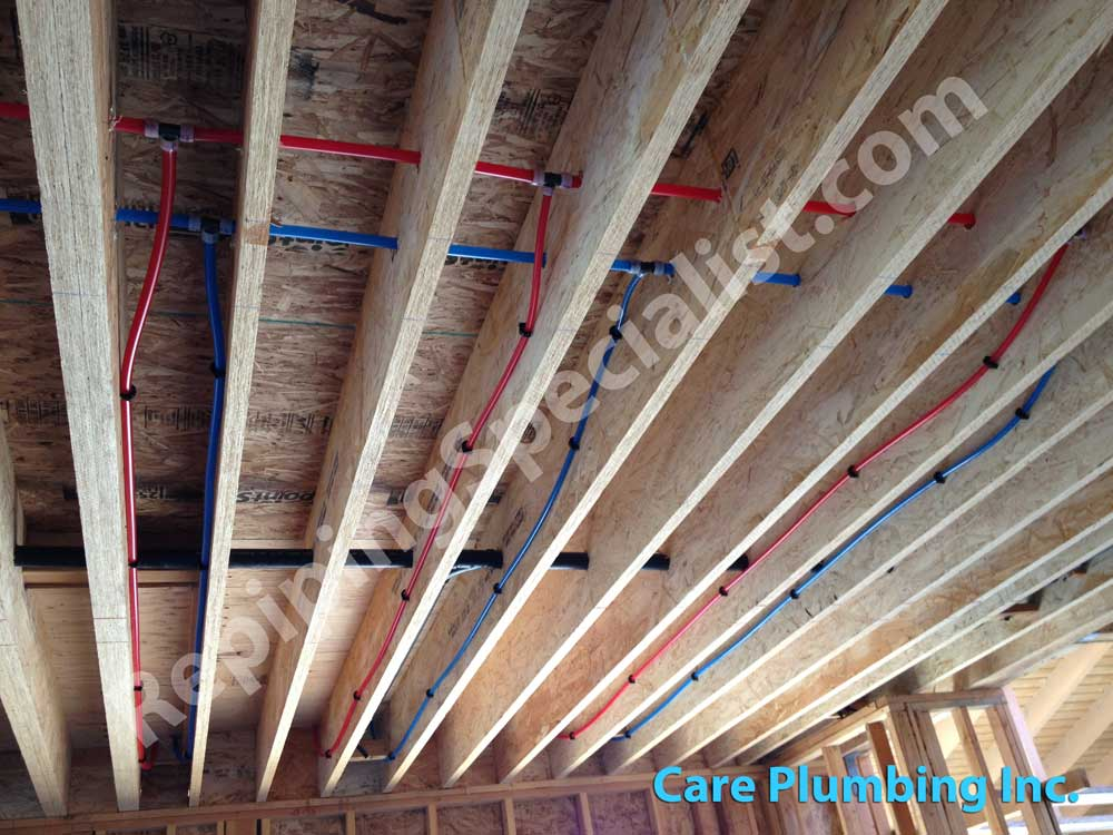 plumbing tubing pex disposal garbage problems